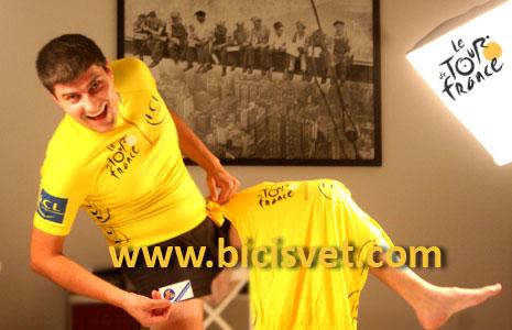 BiciSvet žuta majica