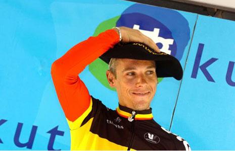Philipe Gilbert San Sebastian winner