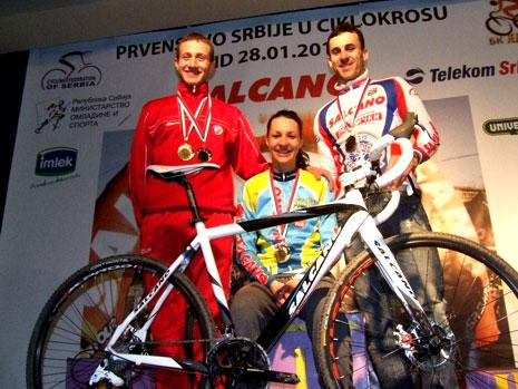 Ciklo-kros prvenstvo Srbije 2012