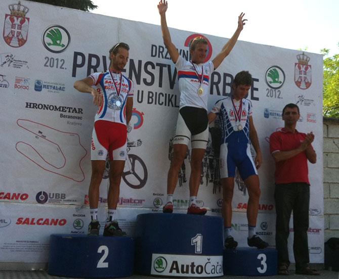 Prvenstvo Srbije u drumskom biciklizmu 2012 – Čačak