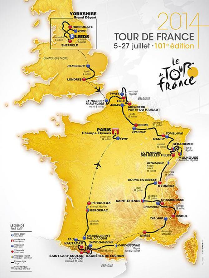 Tour-de-France-2014-route