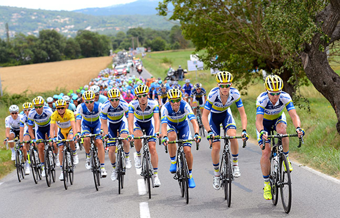 Cycling : 100th Tour de France 2013 / Stage 5