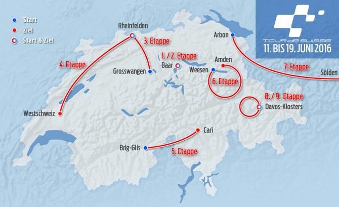 Tour de suisse 16 route